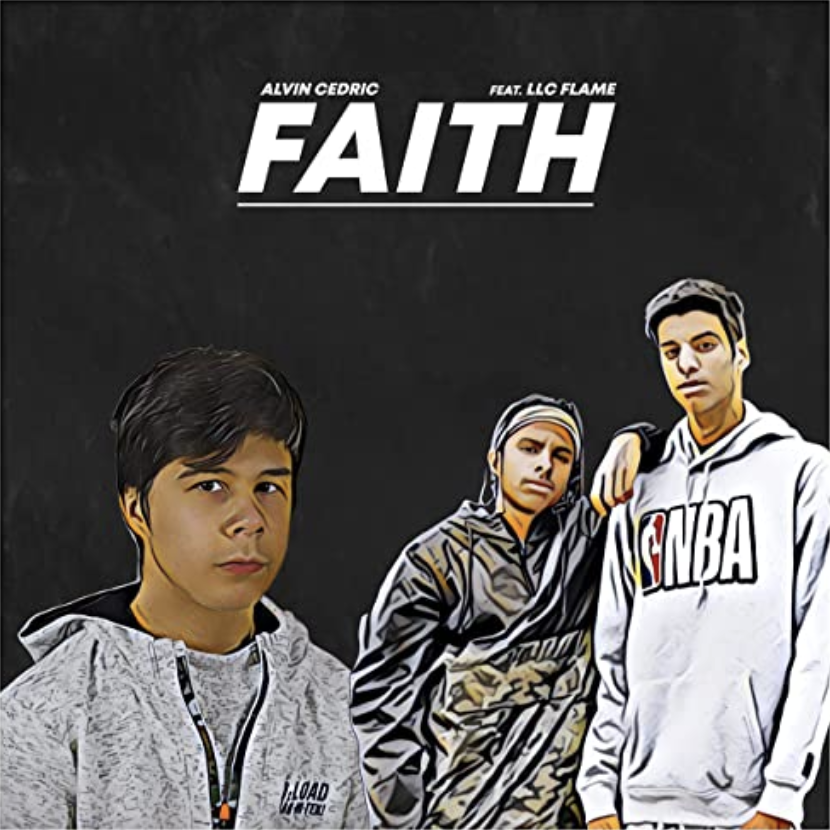 Faith feat. LLC Flame, Alvin Cedric's newest single featured on the Music Link